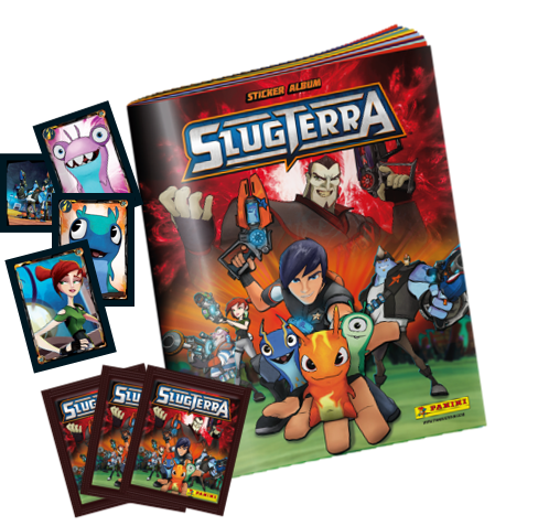 Slugterra Album de cromos