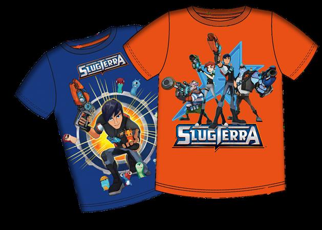 Slugterra Camisetas