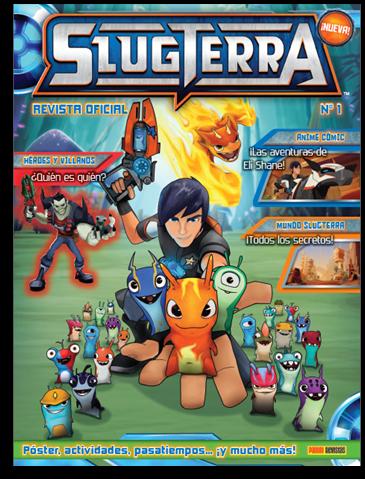 Slugterra Revista